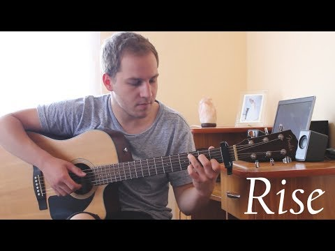 Jonas Blue - Rise ft. Jack & Jack - Fingerstyle Guitar Cover