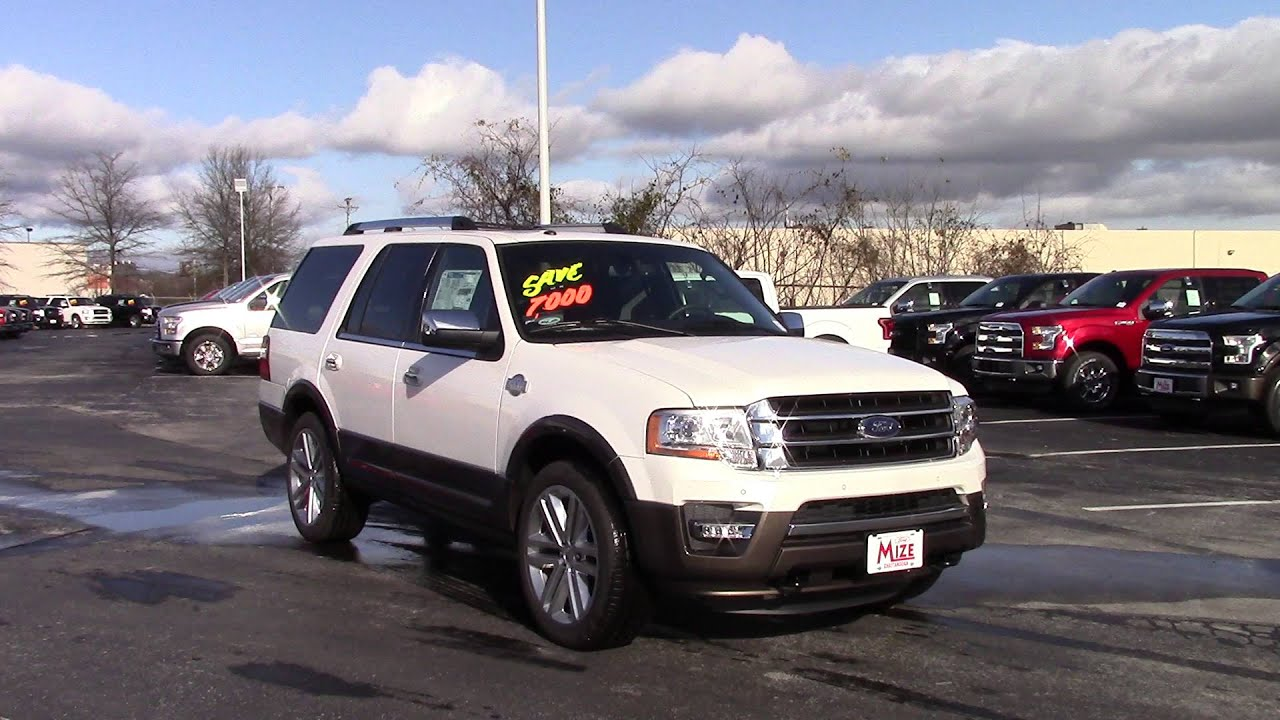 Ford Expedition King Ranch Marshal Mize Ford Chattanooga - Chattanooga ford dealers