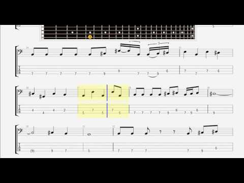 Beatles The   Octopus 's Garden BASS GUITAR TABLATURE