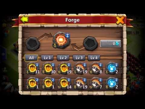 Castle Clash Crest Forge