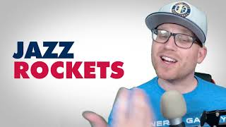 Utah Jazz vs Houston Rockets Game 2: Post Game Reaction - James Harden triple double!
