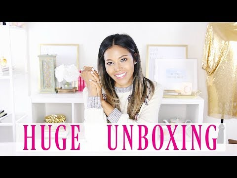 UNBOXING: BOOKS, BEAUTY, HOME, STYLE PT  1 | Ameriie
