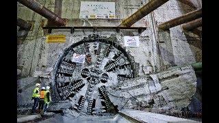 A la découverte du tunnelier qui va creuser la ligne b