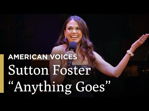 """Sutton Foster Sings """"Anything Goes""""   Great Performances on PBS"""