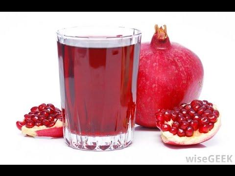 🍓🍉  ~ Les Bienfaits du Jus de Grenade sur la Santé et la Beauté [ Pomegranate ]