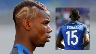 The Strangest and worst  hairstyles of Euro 2016 in France