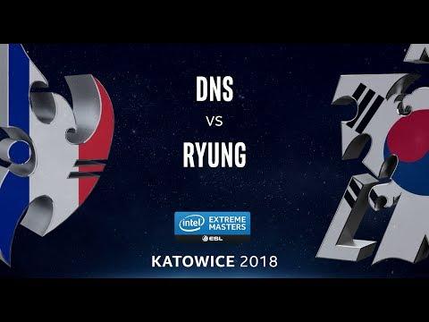 StarCraft II - DnS [P] vs. Ryung [T] - LB Semi - B1 - IEM Katowice 2018