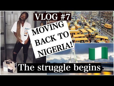 MOVING BACK TO NIGERIA! WEEK 1 - LAGOS! | UWANIVLOGS #7| #LIFESTYLEUWANI