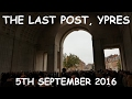 The Last Post, Ypres, 5th September 2016 (4k)