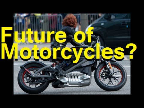 Electric Motorcycles? Harley-Davidson Project LiveWire