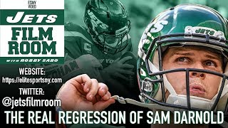 New York Jets QB Sam Darnold: The Very Real Regression | ESNY Film Room