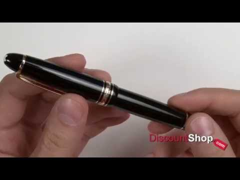 Montblanc Meisterstück LeGrand Rollerball Pen 11402 - review by DiscountShop.com