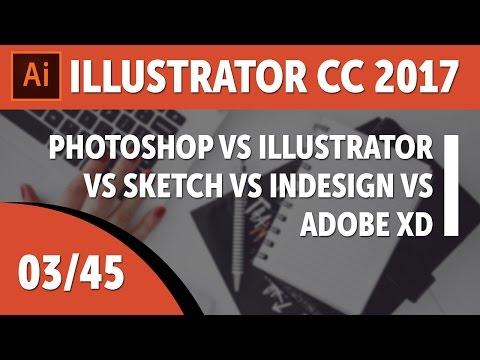 Photoshop vs Illustrator vs Sketch vs InDesign vs Adobe XD