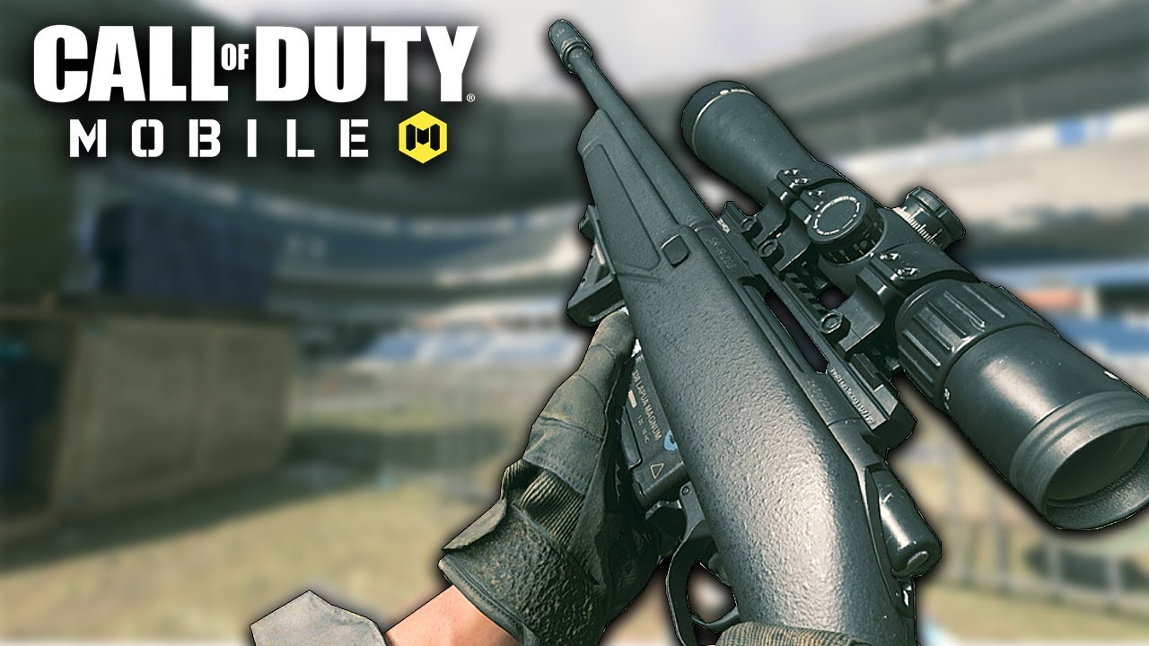 PRIMEIRAS IMPRESSÕES DO NOVO RIFLE ATIRADOR SP-R 208 - CALL OF DUTY MOBILE BETA TESTE