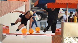 Harry vs. American Ninja Warrior Jessie Graff
