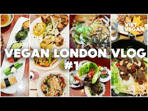 🇬🇧 London Vlog 🇬🇧 #1 Eating ALL the Vegan Food & Vegan Taste Tests
