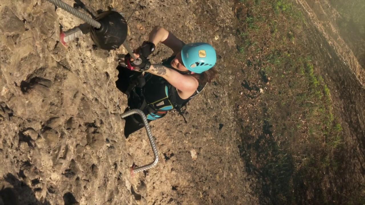 Klettersteig Känzele : Klettersteig känzele und die neuen d e in bregenz youtube