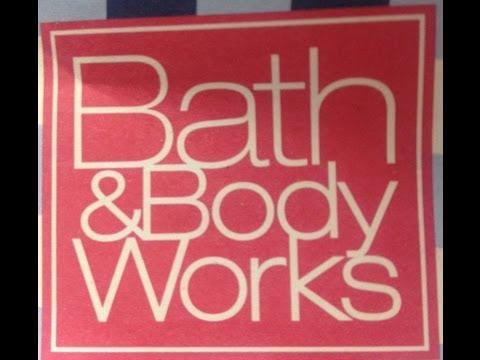 Bath & Body Works Haul 2013