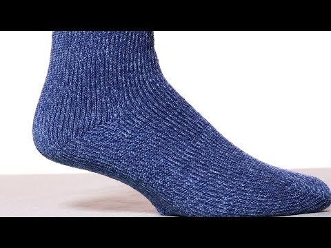 2 Pairs Thermal Crew Socks - Warm Cozy Socks For Women & Kids