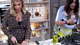 Be Tasty | Nisha Katona and Billie Faiers | Green Soup | ITVBe