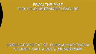 ST. THOMAS MAR THOMA CHURCH,SANTA CRUZ. MUMBAI 1998