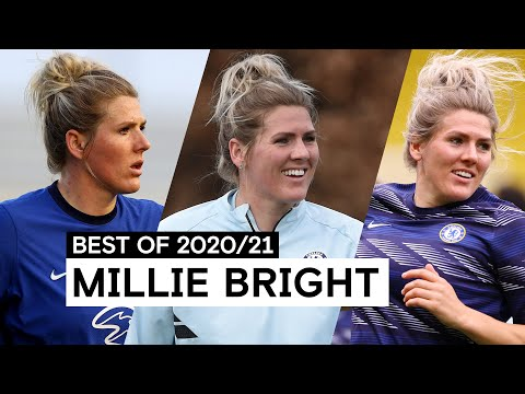 Solid At The Back and Composed On The Ball 💪   Millie Bright   Best of 2020/21