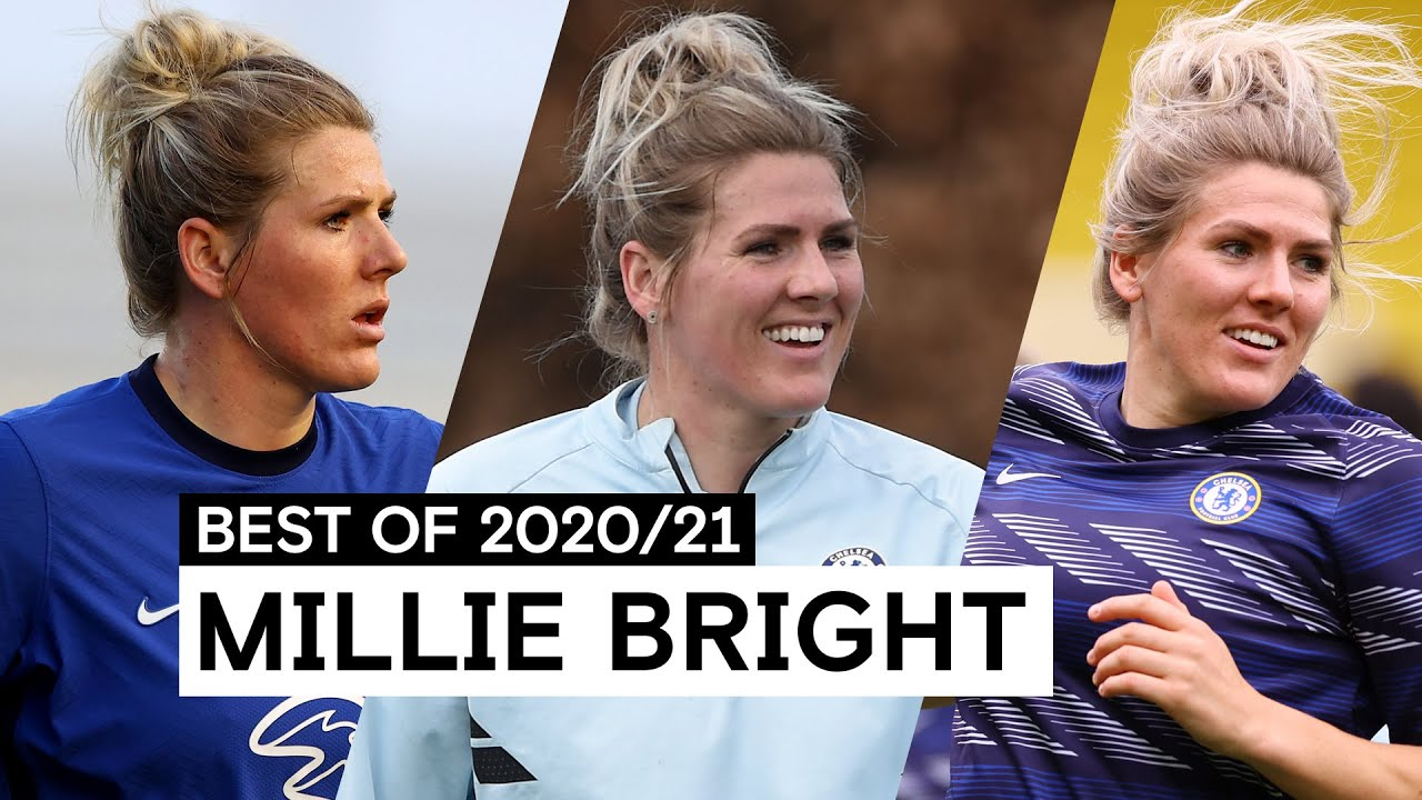 Solid At The Back and Composed On The Ball 💪 | Millie Bright | Best of 2020/21