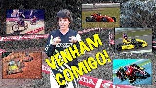 CORRENDO DE TUDO! Motovelocidade, Moto Off-Road, Kart, Kartcross, Formula Vee