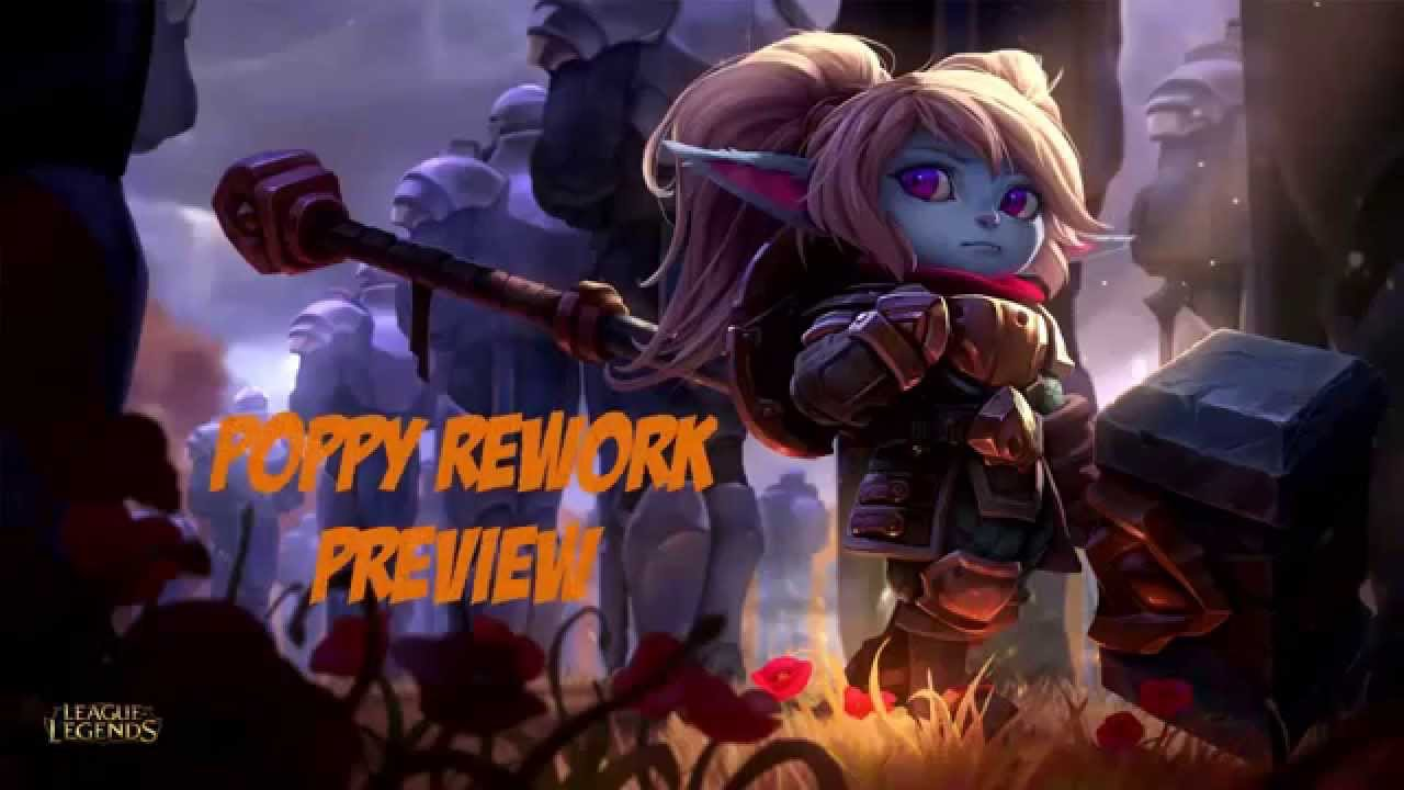 POPPY REWORK PREVIEW!