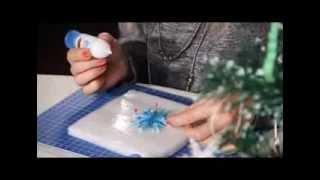 «Ручная работа». Квиллинг: делаем снежинку (25.12.2013)