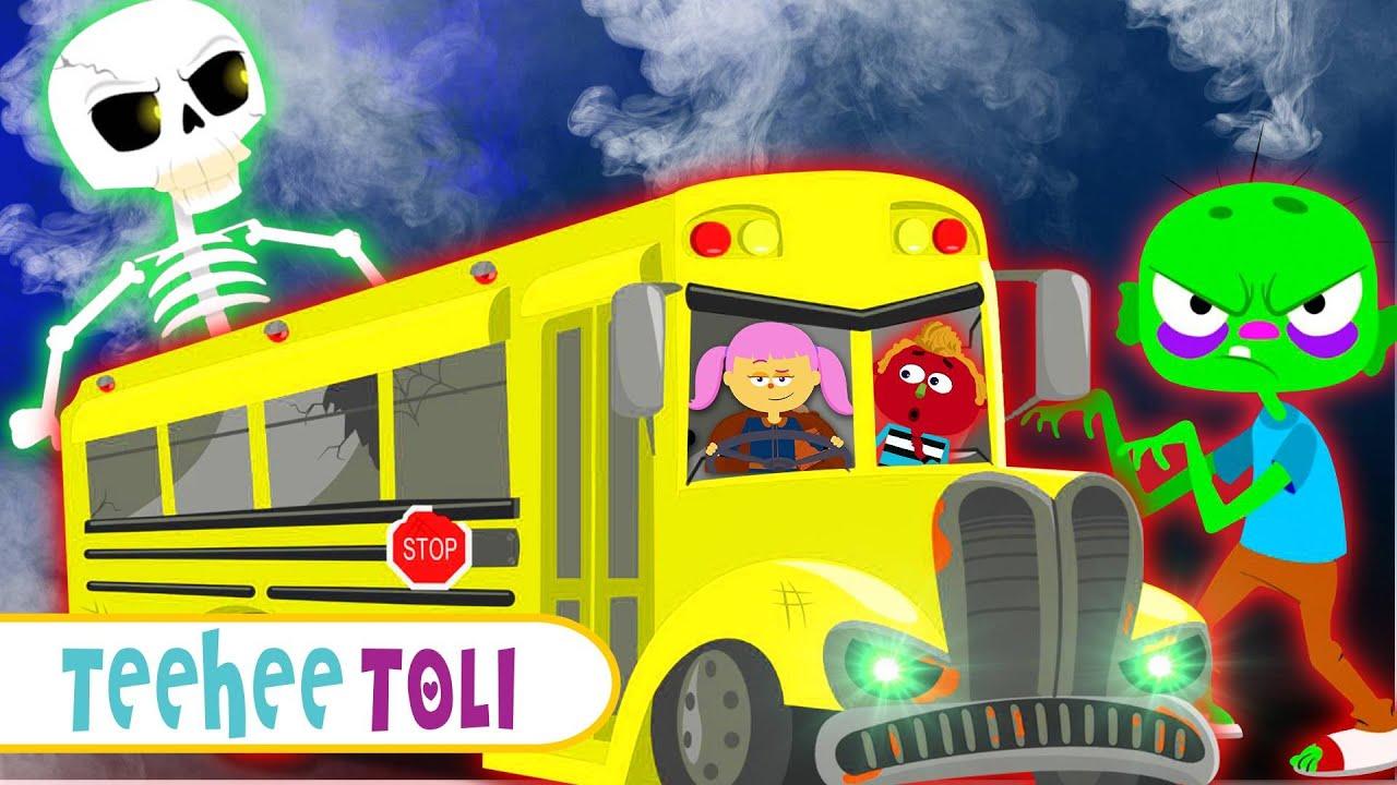 BHOOTIYA Wheels On The Bus With Len & Mini | Hindi Songs & Stories By Teehee Toli