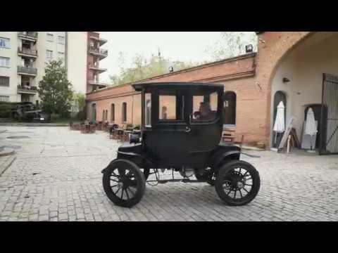 Detroit Electric Brougham... un cotxe elèctric de 1910!