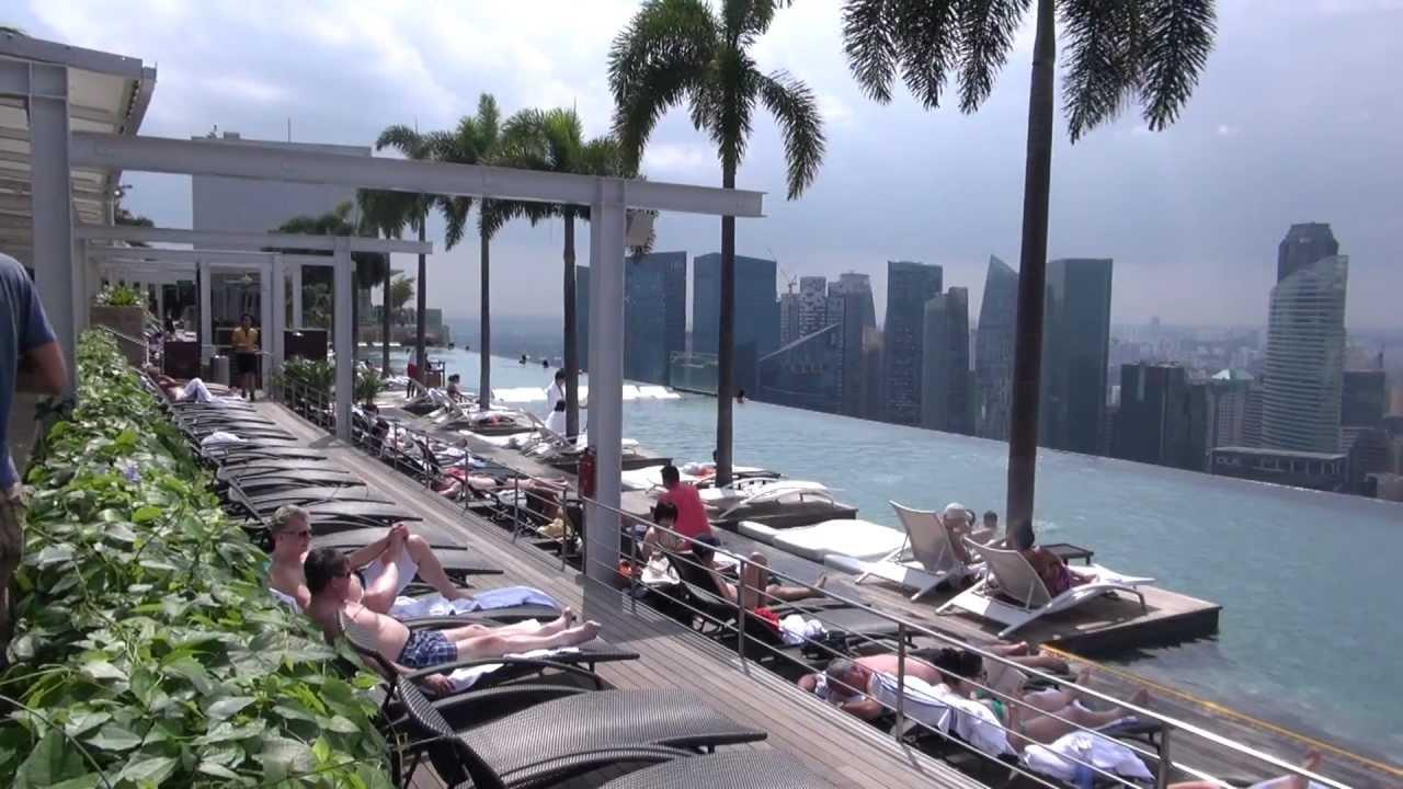 Marina Bay Sands Hotel Singapore Youtube