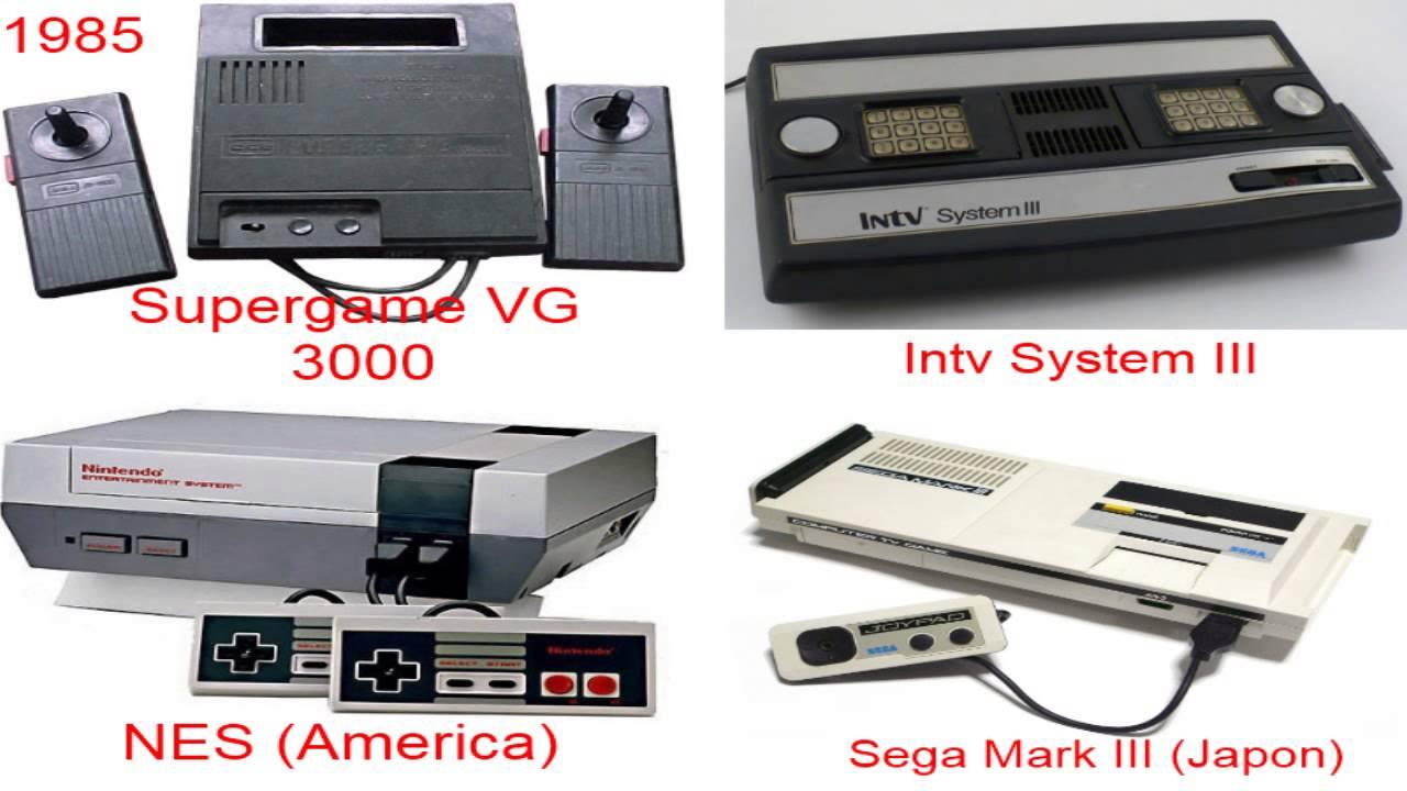 consolas de videojuegos segunda generacion