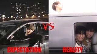 BTS (Bangtan Boys) Crack part 2 // Expectations vs Reality