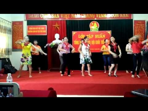 múa cachiusa Đội 2014