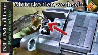Motorkohlen wechseln / Waschmaschine Kohlebürsten wechseln - Anleitung