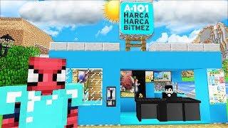 ZENGİN ŞEHRE A101 MARKET YAPTIRDI! 😱 - Minecraft