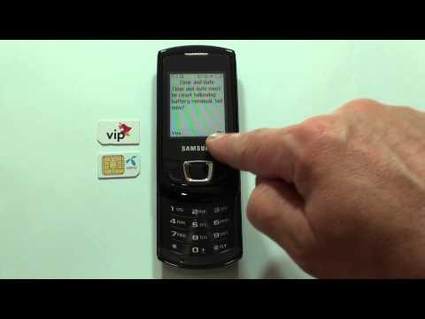 Samsung E2550 dekodiranje pomoću koda