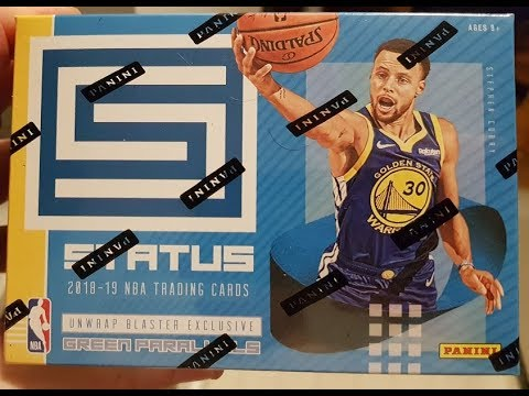 2018 19 Panini Status Basketball Blaster Box Break
