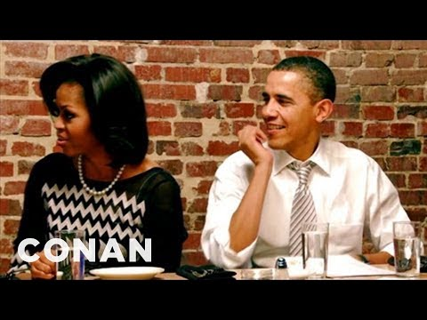 Barack Obama: Lousy Dinner Gue... is listed (or ranked) 17 on the list The Very Best Viral Conan Clips of 2012