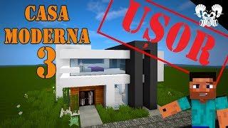 Minecraft - Cum sa faci o casa moderna simpla #3
