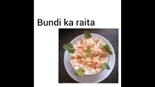 delicious Bundi ka Raita best for summers must watch