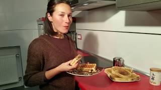 Sandwich de berenjena. Receta vegetariana y saludable. La berenjena...