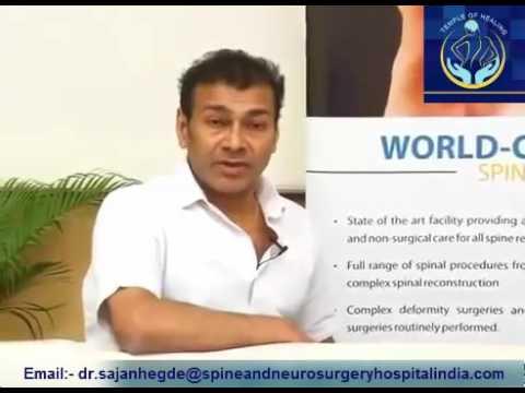 Dr  Sajan Hegde | Best Scoliosis Surgeon in India | Apollo Hospital Chennai