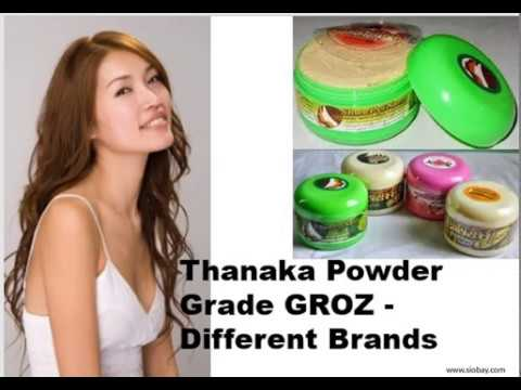 Thanaka Grade Groz Powder Fastest Permanent Hair Removal With
