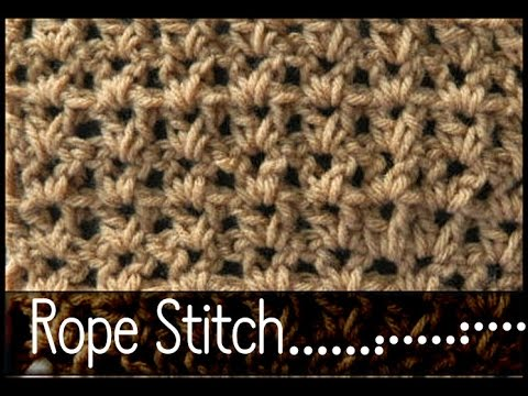 Learn how to Crochet the V stitch