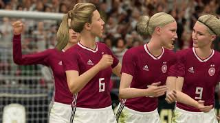England vs Germany women s football game so many beautiful girls and goals XSX 4k