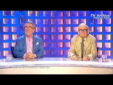 BBC TRAILER RECORDING FOR BRITISH FORCES TELEVISION (23.11.2004): The Two Ronnies Sketchbook
