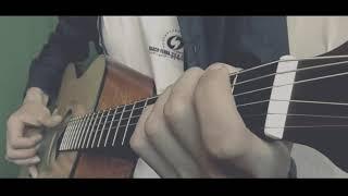 В.Цой-закрой за мной дверь.На гитаре /Fingerstyle